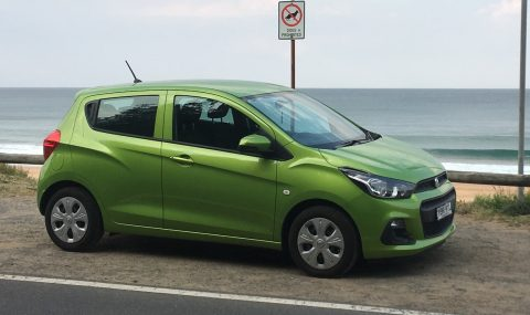 2017 Holden Spark LS review