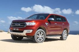 Ford Everest Titanium now available with off-road 18in wheel option