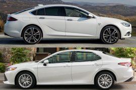 2018 Toyota Camry vs 2018 Holden Commodore: Pre-review comparison