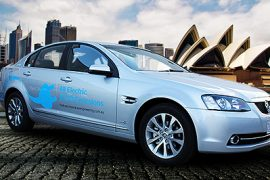 Video: The electric Holden Commodore that almost was