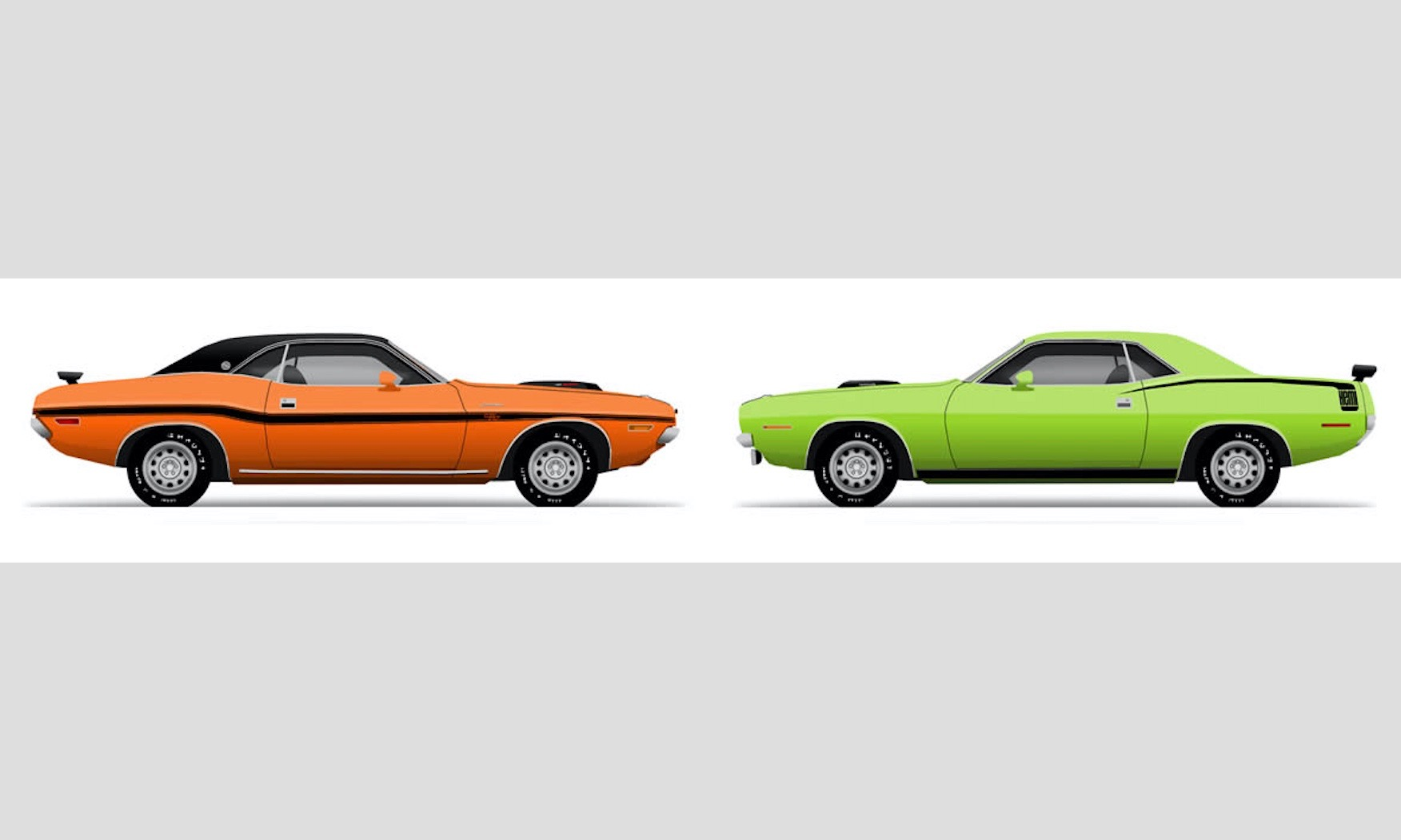 Chrysler S E Body Cousins Dodge Challenger And Plymouth Barracuda