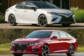 2018 Toyota Camry vs 2018 Honda Accord: Pre-review comparison