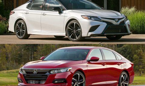 2018 Toyota Camry vs 2018 Honda Accord: Pre-review comparison