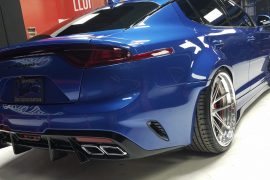 Kia Stinger Wide Body and Federation concepts bow at 2017 SEMA Motor Show