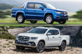 2018 Mercedes-Benz X-Class vs 2018 Volkswagen Amarok: pre-review comparison