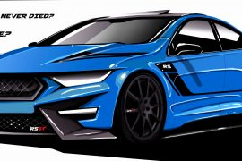 Can you come up with a future Ford Falcon design idea?
