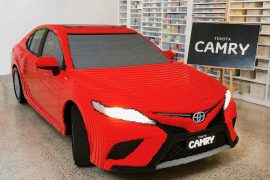 2018 Toyota Camry made of LEGO debuts at Melbourne exhibition