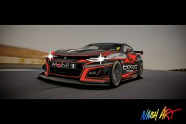 Track-ready Camaro rendering looks pumped for Supercars series