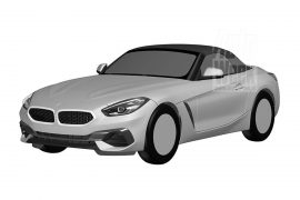 2019 BMW Z4 potentially leaked in patent images
