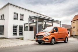 2018.5 Ford Transit Custom announced with infotainment, safety boost