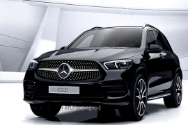 2019 Mercedes-Benz GLE leaked early
