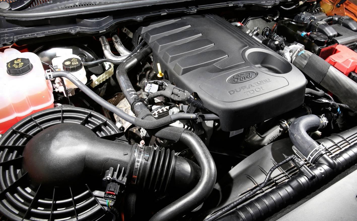 2017 ford ranger wildtrak engine