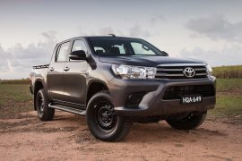 2017 Toyota HiLux SR double-cab 4×4 review