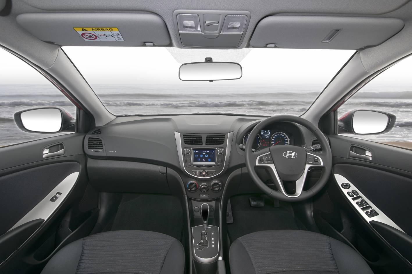 2018 Hyundai Accent Sport Interior