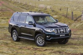 2018 Toyota Prado lands in Australia in November