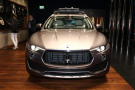Maserati to introduce V8-powered Levante GTS – report