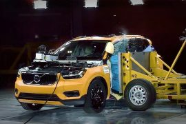 Video: Volvo XC40 shows off safety in first crash test