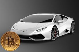 Man purchases Lamborghini with Bitcoin cryptocurrency