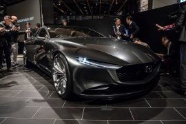 2017 Mazda Kai & Vision Coupe concepts unveiled at Tokyo Motor Show