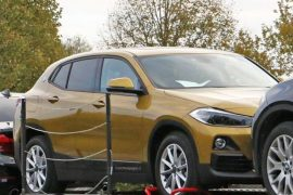 2018 BMW X2 spied completely uncovered