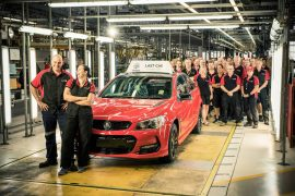 Last-ever Australian-made Holden Commodore rolls off production line