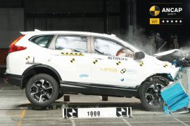 2018 Honda CR-V scores 5-star ANCAP safety rating