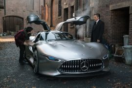 Justice League movie to feature Mercedes-AMG Vision Gran Turismo