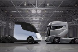 Tesla truck rendered- looks production ready