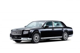 2018 Toyota Century updates a formal Japanese classic