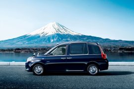 Toyota reveals 2018 JPN taxicab in lead up to 2020 Tokyo Olympics