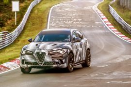 Alfa Romeo Stelvio QV takes Nurburgring SUV lap record (video)