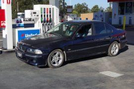 Video: BMW E39 5 Series with turbo TB48DE 4.8 Nissan Patrol straight six