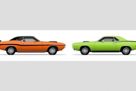 Chrysler's E-Body Cousins: Dodge Challenger and Plymouth Barracuda