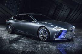 Lexus LS+ concept debuts at Tokyo, previews 2020 design & tech