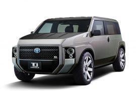 Toyota Tj Cruiser concept; junior FJ Cruiser of tomorrow?