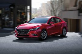 2017 Mazda3 now available in Soul Red Crystal colour