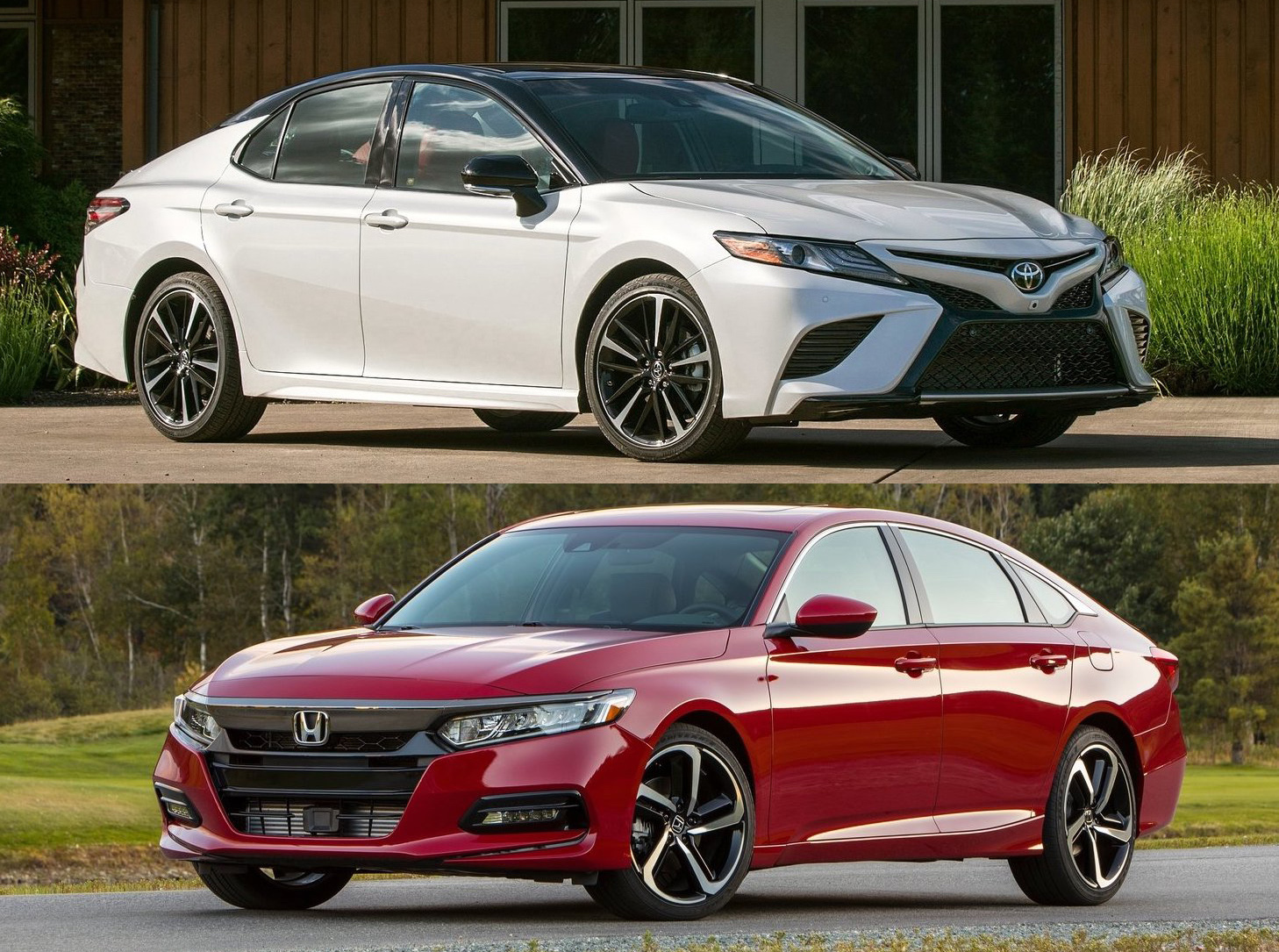 2018 Toyota Camry Vs 2018 Honda Accord: Design