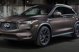 2018 Infiniti QX50 debuts with world first variable compression engine