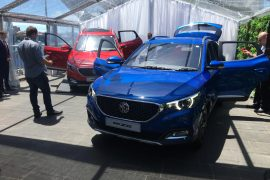 2018 MG ZS small SUV launched at Sydney event