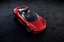 2020 Tesla Roadster unveiled early, 400 km/h top speed, 1000 km range