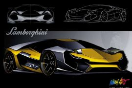 New design competition allows young designers to envision a future Lamborghini