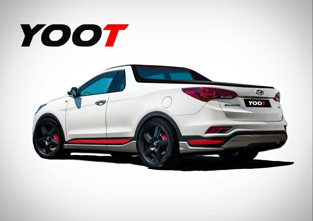 Hyundai Ute Design Envisioned With Sporty Australian