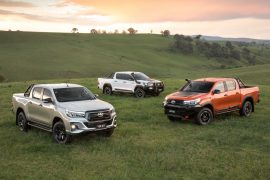 2018 Toyota HiLux Rugged, Rugged X and Rogue revealed