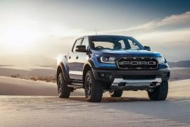 2018 Ford Ranger Raptor debuts, twin-turbo diesel engine