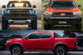 Ford Ranger Raptor vs HSV Colorado SportsCat vs Toyota HiLux Rugged X: Pre-review comparison