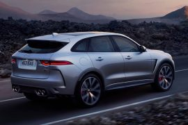 2019 Jaguar F-Pace SVR debuts with a monstrous 404kW, 680Nm supercharged V8