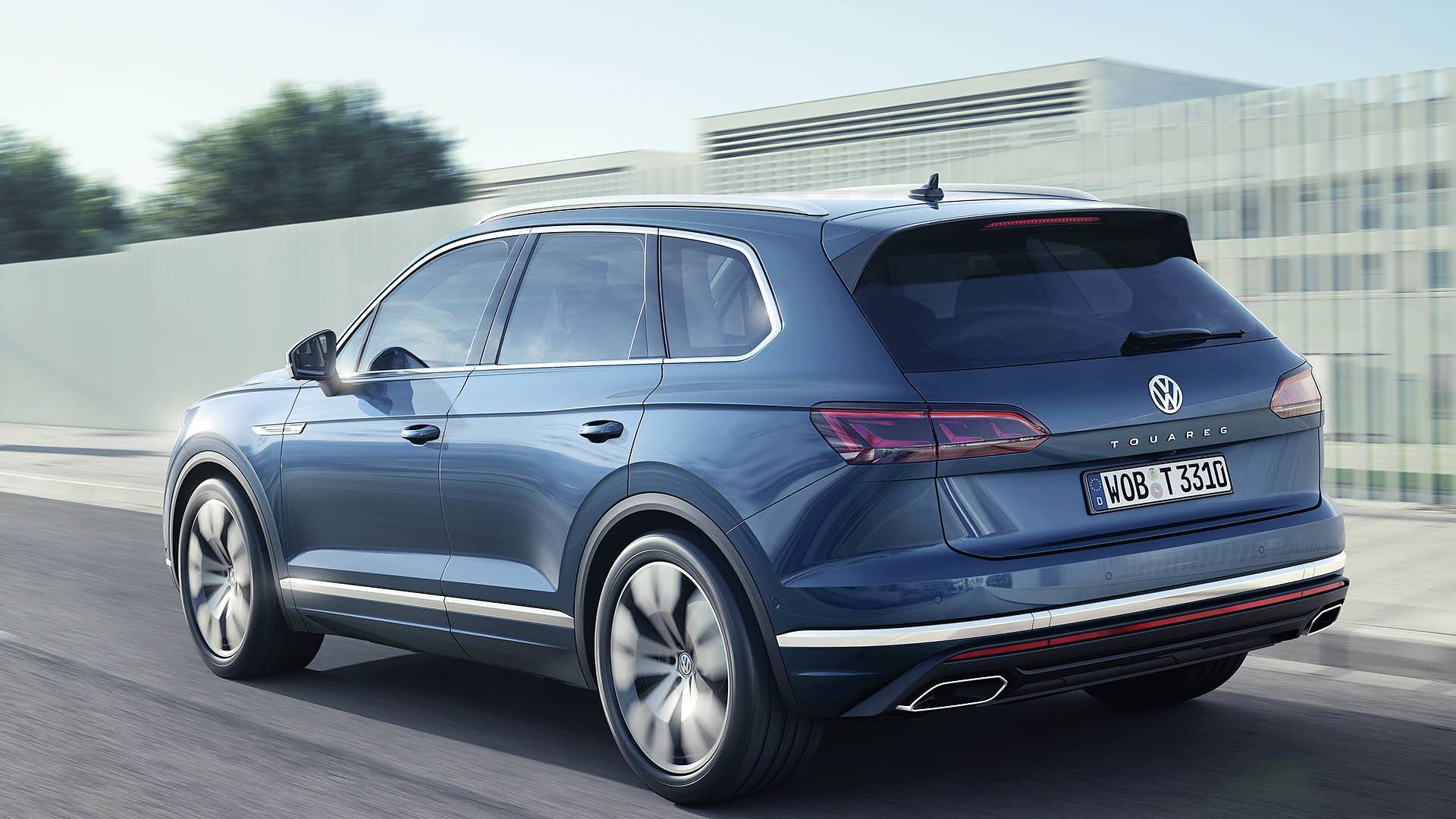 2019 Volkswagen Touareg revealed- lighter, more luxury and ...