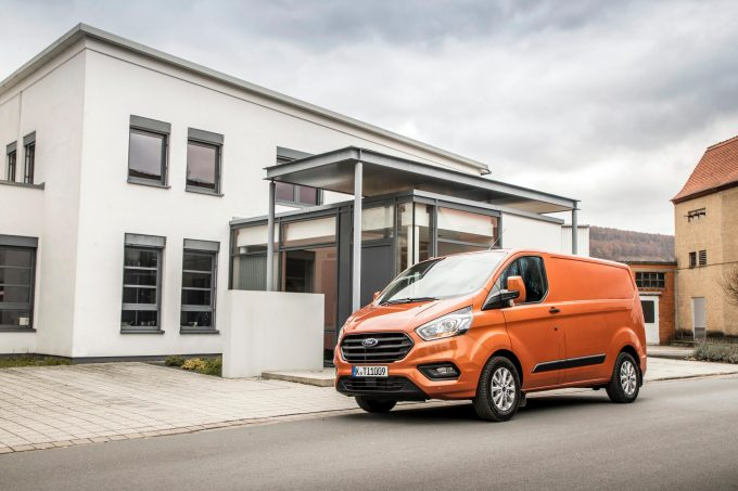 2018 5 Ford Transit Custom announced with infotainment