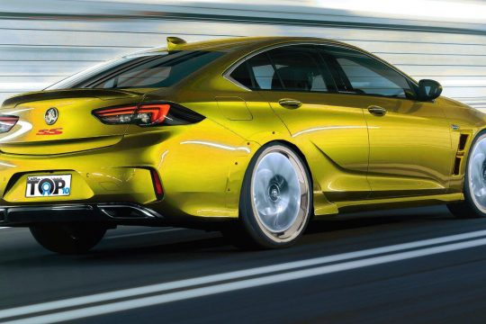 Exclusive- Holden ZB Commodore prototype caught testing with