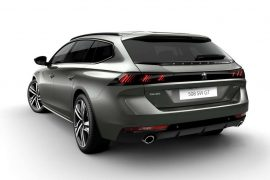 2019 Peugeot 508 SW revealed- stylish and efficient French wagon
